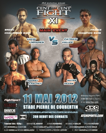 100% Fight MMA Paris Nayeb Hezam