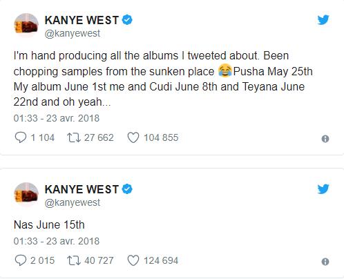 Kanye West producteur pour Nas ?