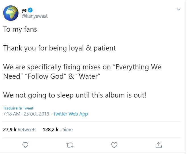 Donald Trump Jr. encense le nouvel album de Kanye West