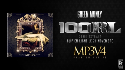 green 100rl clip officiel