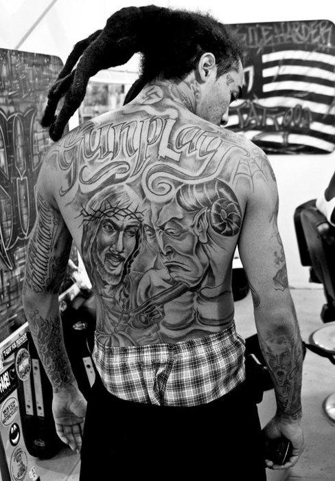 Gunplay Mmg S Explique Sur Son Tatouage Nazi