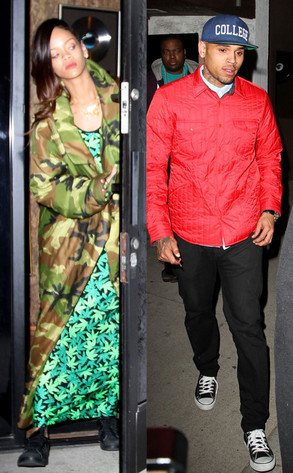 la rencontre entre rihanna et chris brown