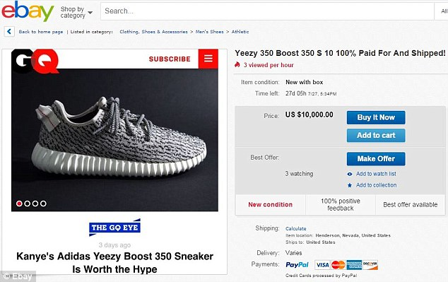 adidas yeezy boost 350 price