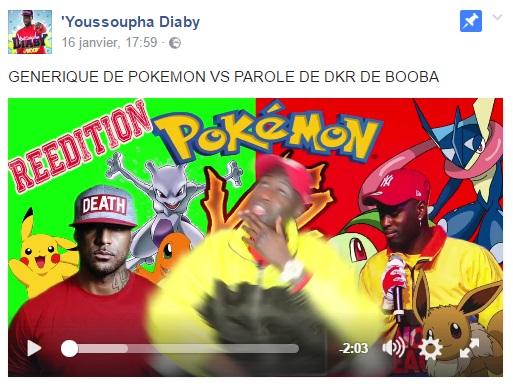 Le Le Le Reprend De Version Diaby Pokemon ''dkr'' ''dkr'' ''dkr'' Générique Youssoupha E7qRUxF