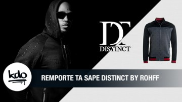 DISTINCT by ROHFF : remporte tes tenues