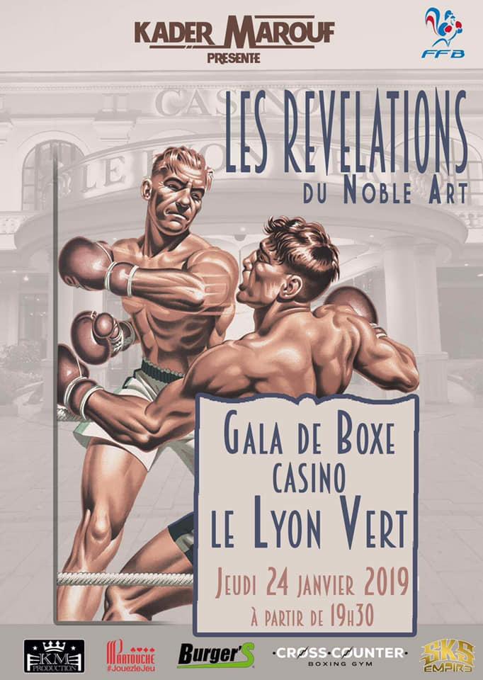 #LYON LES REVELATIONS DU NOBLE ART AU CASINO LYON VERT
