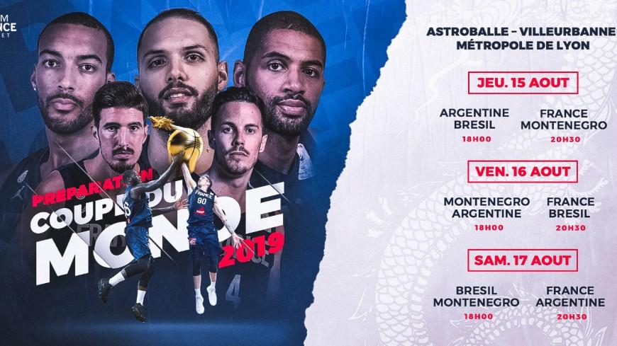 Coupe du monde de basket (PARTENAIRE GENERATIONS LYON)