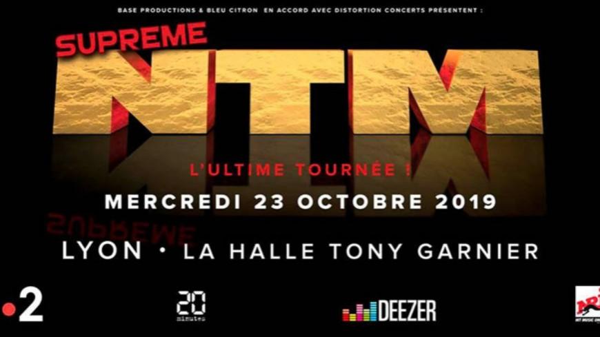 NTM à la halle Tony Garnier le 23 octobre