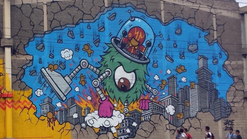 #NEWSLYON « Peinture Fraîche », le festival international de street-art à Lyon