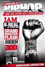 B-REAL de CYPRESS HILL... A PARIS HIP HOP 2009 !!