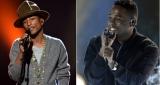 Pharrell Williams et Kendrick Lamar au NBA All Star Game 2014 !