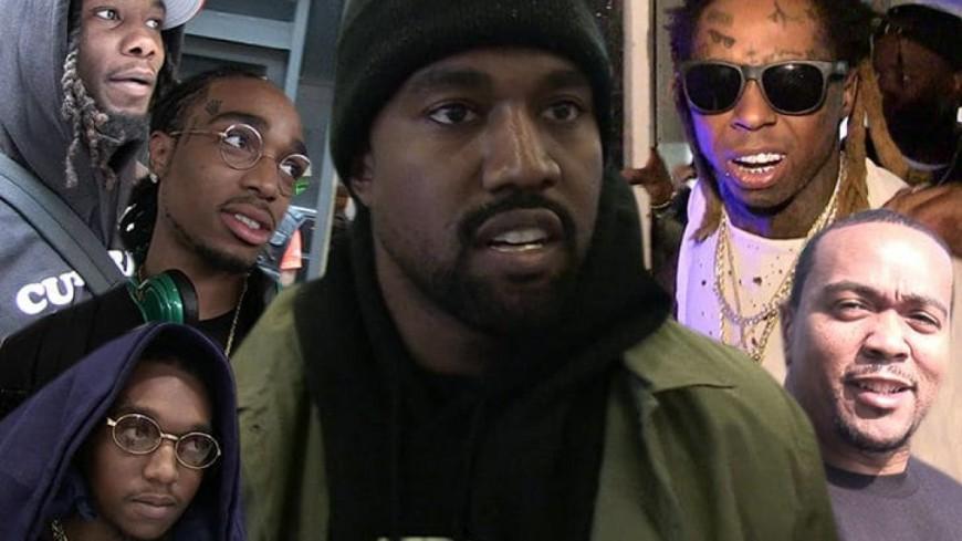 Kanye West travaille en collaboration avec Lil Wayne, 2 Chainz et les Migos sur son prochain album ''Yandhi'' !