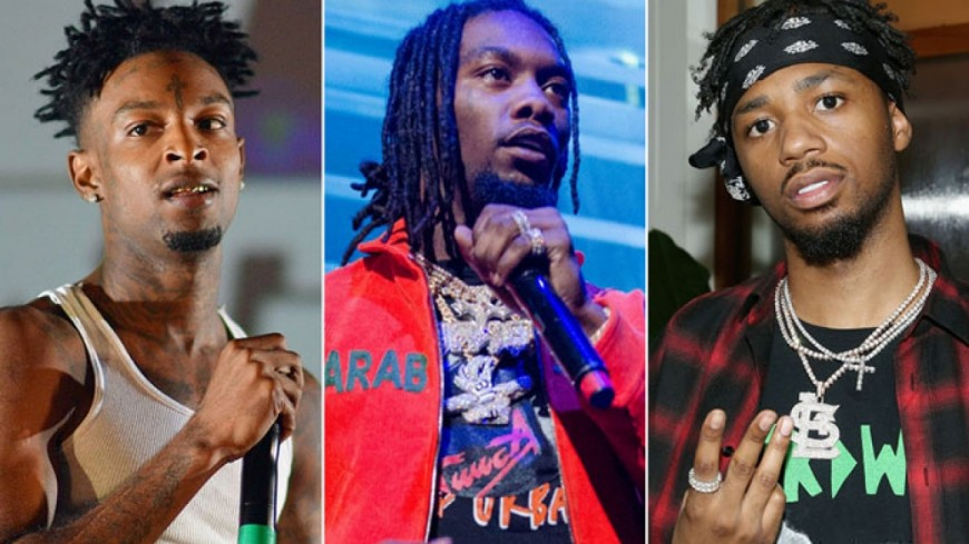 21 Savage, Offset et Metro Boomin réunis dans ''Without Warning'' !