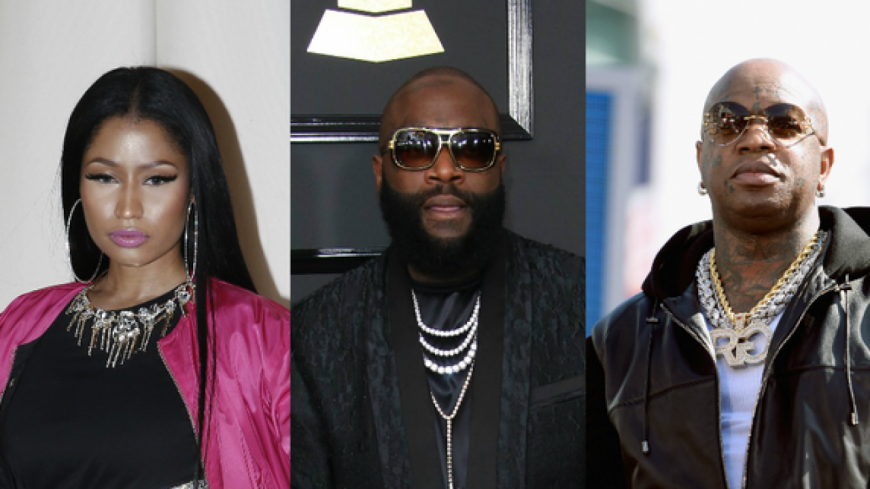 Rick Ross pique salement Birdman et Nicki Minaj !