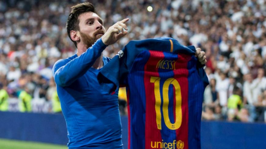 Lionel Messi ne laisse même pas lécher l'assiette.