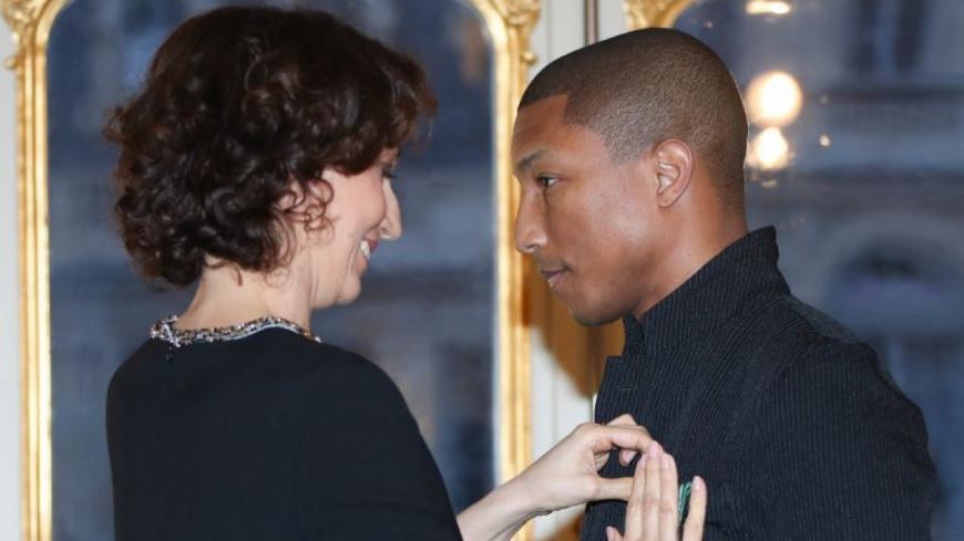 Pharrell Williams est officier de l'Ordre des arts et des lettres !