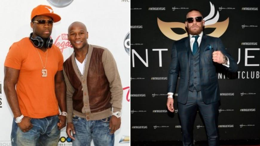Après Floyd Mayweather, c'est au tour de 50 Cent de monter sur le ring face à Conor McGregor ?