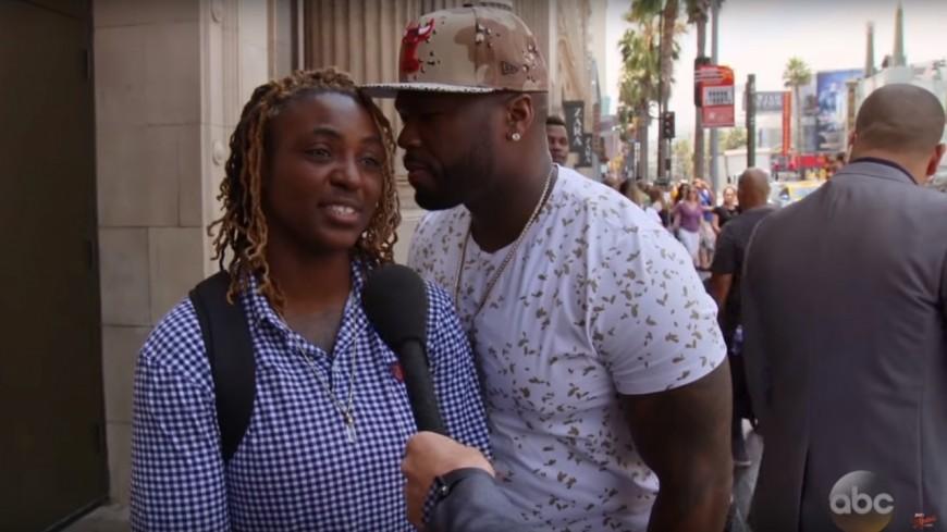 Quand 50 Cent et Jimmy Kimmel piègent des gens dans la rue !