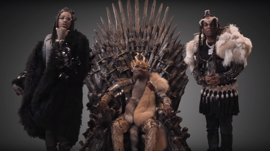 Migos remix le générique de Game Of Thrones !