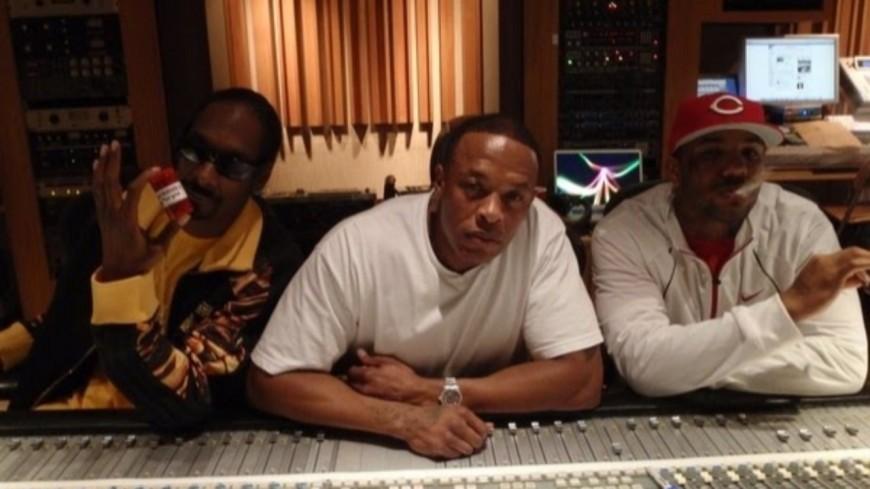 Dr. Dre, Snoop Dogg et The Game réunis en studio pour l'album de ce dernier!