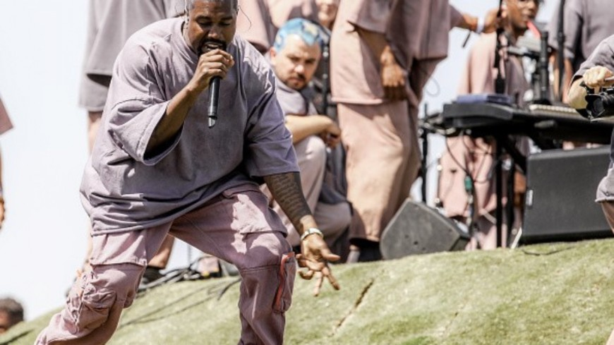 Kanye West a livré une performance de folie à Coachella !