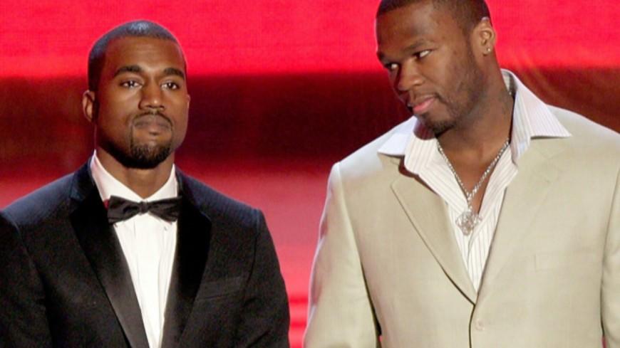 50 Cent clashe Kanye West !