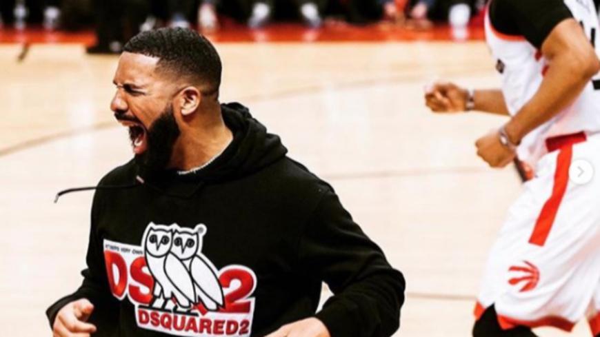 Drake continue de taquiner Gucci Mane après la défaite des Milwaukee Bucks contre les Toronto Raptors !