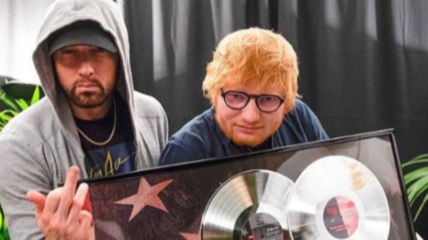 Eminem 50 Cent Meek Mill ou encore Travis Scott: Ed Sheeran réunit les plus grands