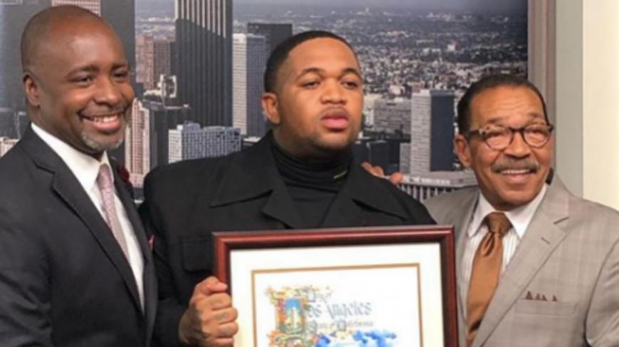 DJ Mustard honoré par la municipalité de Los Angeles.