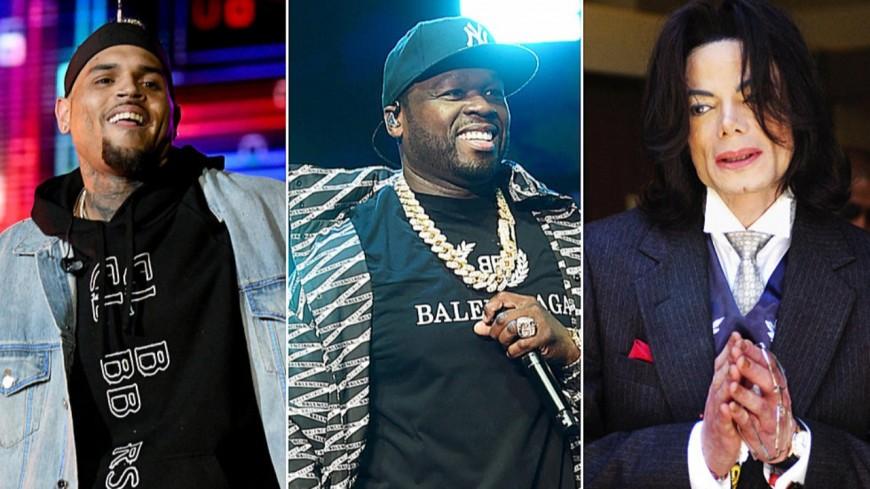 """50 Cent lâche une nouvelle bombe : """"Chris Brown est meilleur que Michael Jackson"""" !"""