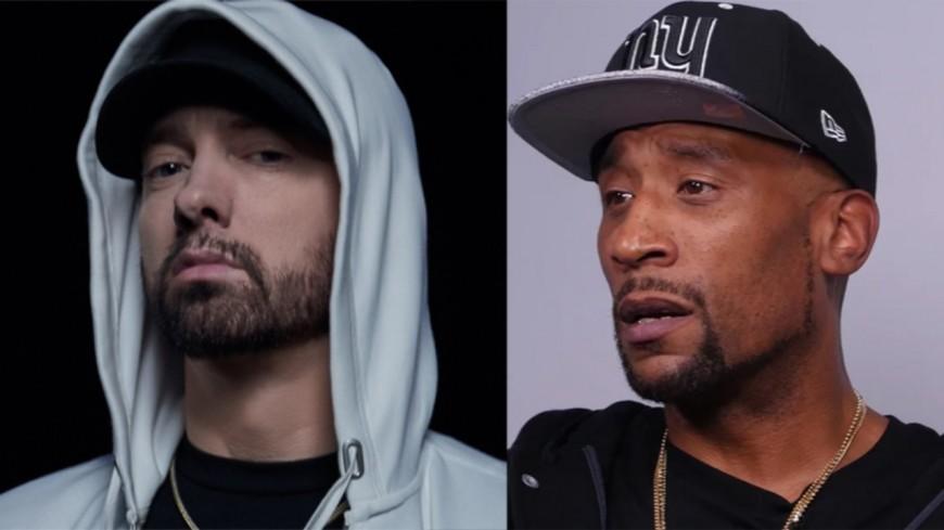 Eminem détruit Lord Jamar en plein concert !
