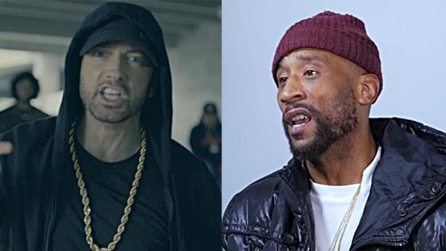 """Eminem : selon Lord Jamar, il """"rêve des hommes"""" !"""