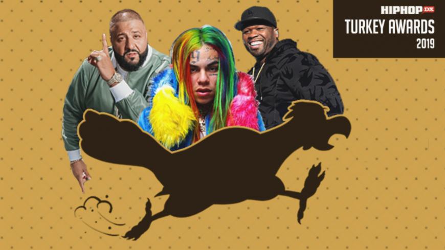 "HipHopDx balance ses ""Turkey Awards"" : 50 Cent, DJ Khaled et 6ix9ine ""récompensés""..."