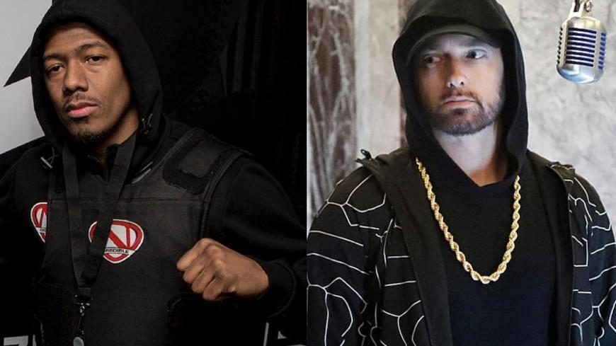 Eminem défié et clashé par Nick Cannon !
