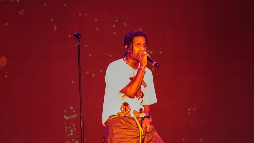 A$ap Rocky :  premier concert en Suède depuis son arrestation