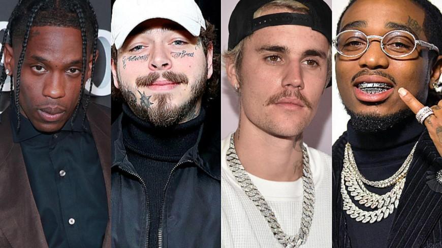 Quavo, Travis Scott et Post Malone seront sur l'album de Justin Bieber !