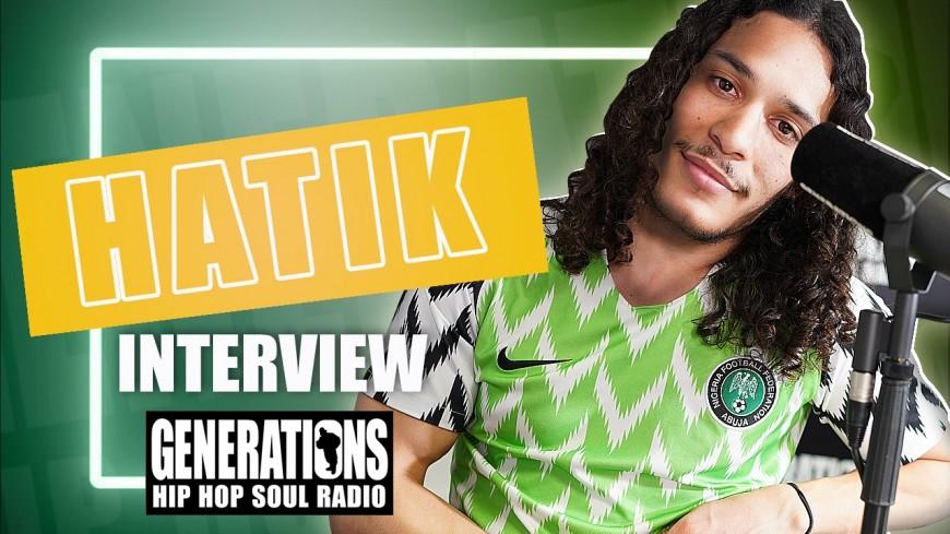 Hatik en interview : Chaise pliante 2, l'album, la Guyane, le coronavirus, la tournée...