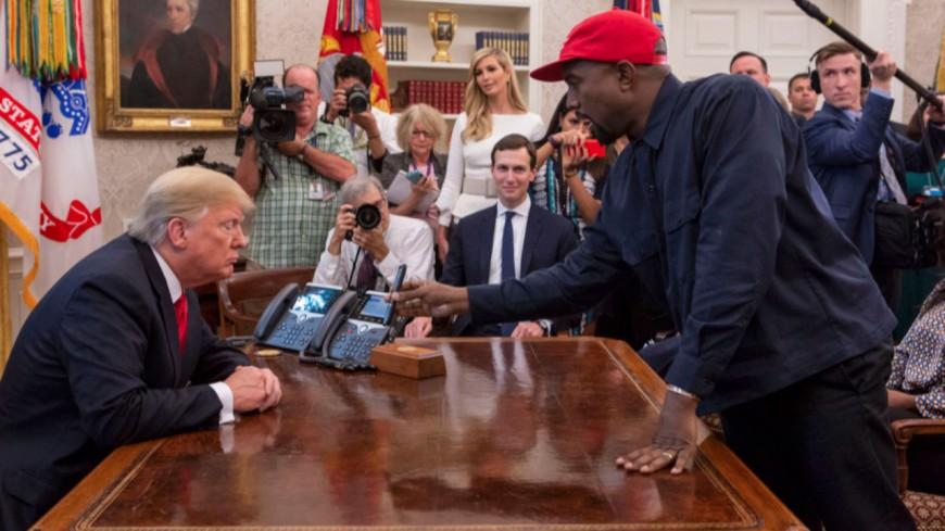 Kanye West réaffirme son soutien à Trump