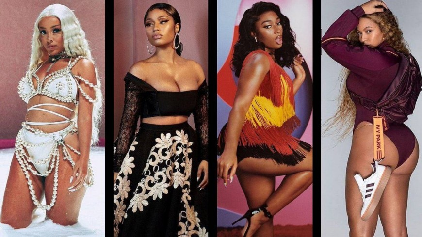 Doja Cat, Nicki Minaj, Beyoncé, Megan Thee Stallion marquent l'histoire !