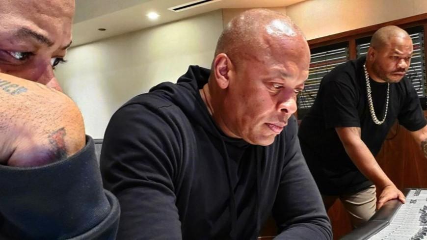Dr. Dre et Xzibit sont ensemble en studio
