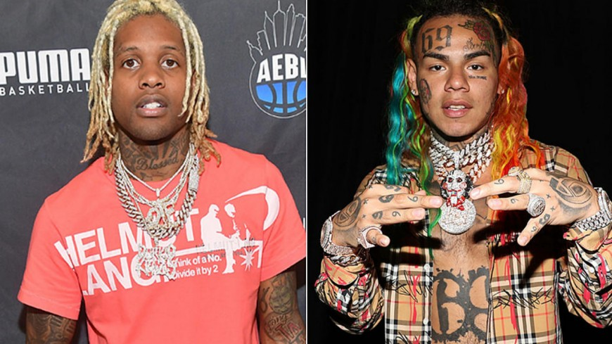 "6ix9ine : Lil Durk ""officialise"" son clash"