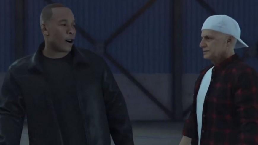 """Dr. Dre apparaît dans le jeu """"GTA V"""" avec Jimmy lovine !"""