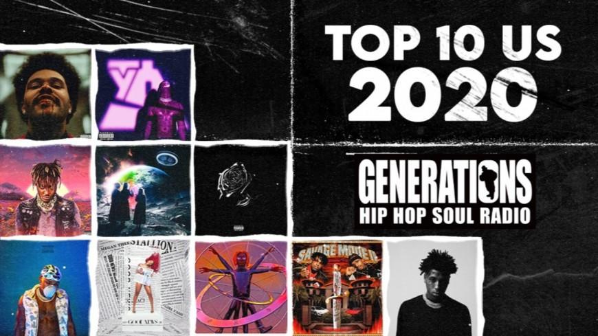 Le TOP 10 RAP US de la rédaction de Generations
