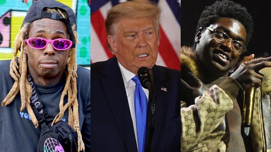 Lil Wayne et Kodak Black gracié par Donald Trump ?
