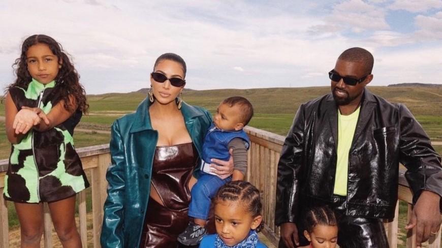 Kanye West et Kim Kardashian vont se battre pour leurs enfants !