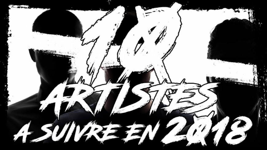 Les dix artistes à suivre en 2018 selon Générations !