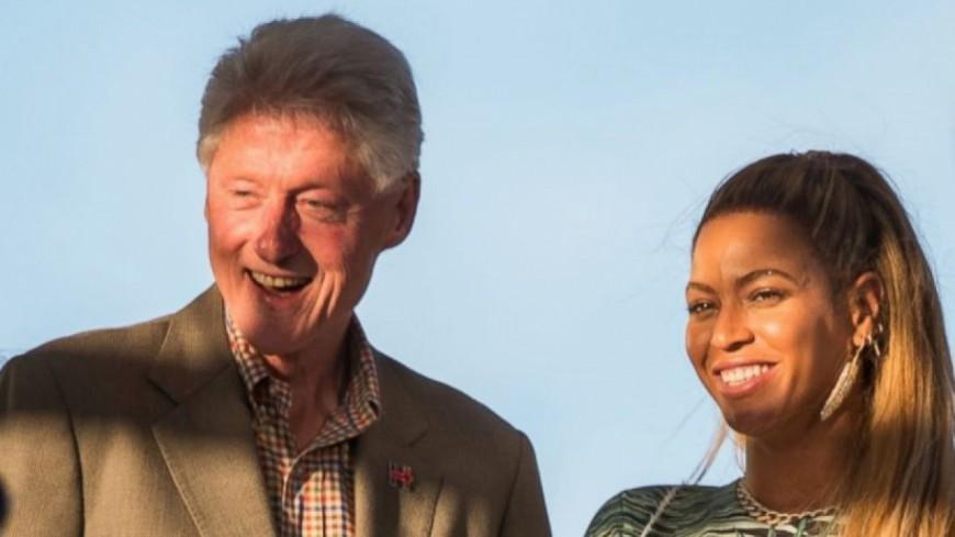 Bill Clinton aperçu avec Jay-Z et Beyoncé !