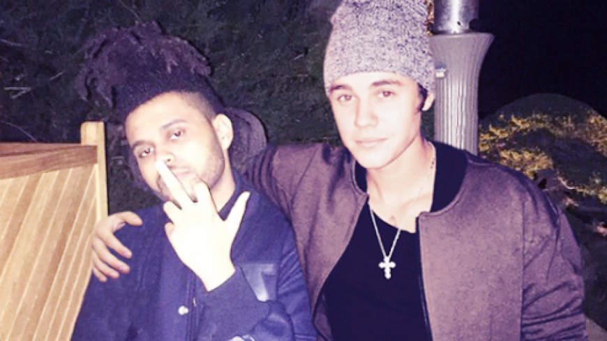 Justin Bieber clash The Weeknd