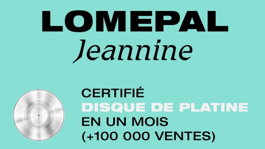 Le dernier album de Lomepal, ''Jeannine'', est certifié disque de platine !