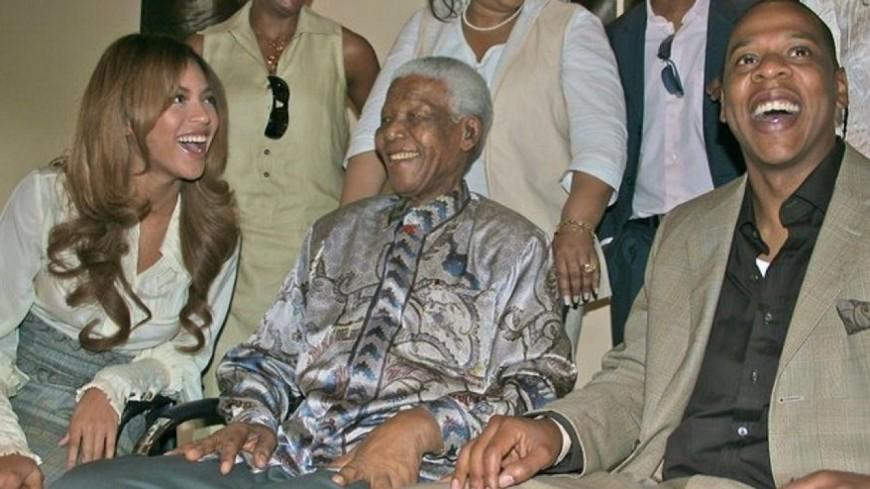 Beyonce écrit une lettre à Nelson Mandela !